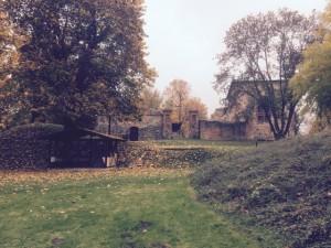 Parkanlage im Dorf Gerswalde